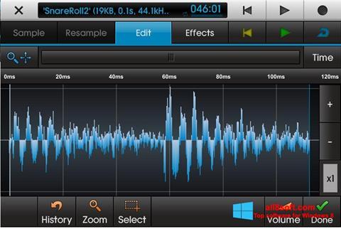 Ekran görüntüsü NanoStudio Windows 8