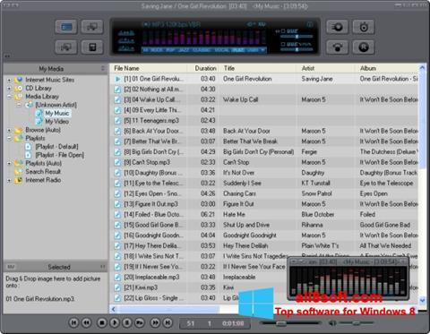 Ekran görüntüsü JetAudio Windows 8