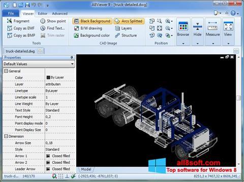 Ekran görüntüsü ABViewer Windows 8