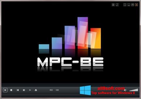 Ekran görüntüsü MPC-BE Windows 8