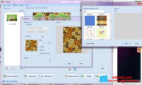 Ekran görüntüsü CollageIt Windows 8