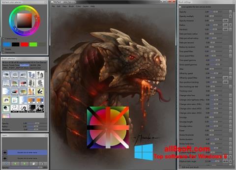 Ekran görüntüsü MyPaint Windows 8