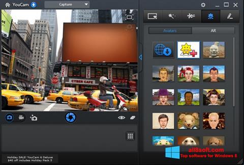 Ekran görüntüsü CyberLink YouCam Windows 8