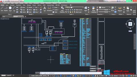 Ekran görüntüsü AutoCAD Electrical Windows 8