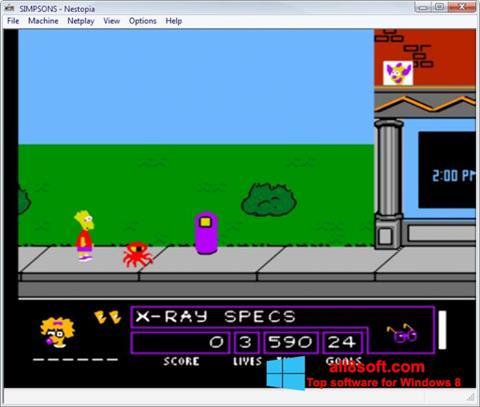Ekran görüntüsü Nestopia Windows 8