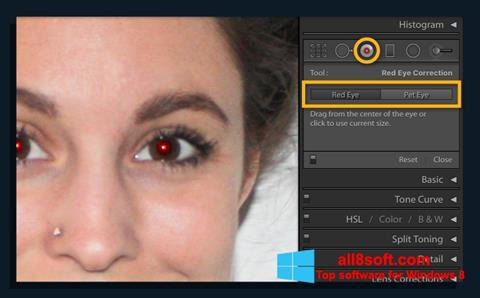Ekran görüntüsü Red Eye Remover Windows 8