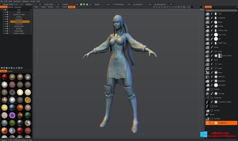 Ekran görüntüsü 3D-Coat Windows 8