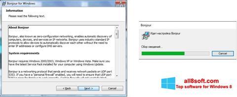 Ekran görüntüsü Bonjour Windows 8