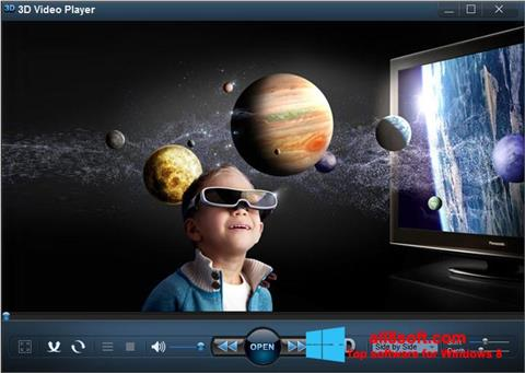 Ekran görüntüsü 3D Video Player Windows 8