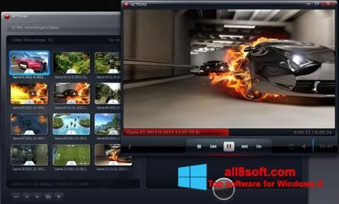 Ekran görüntüsü Action! Windows 8