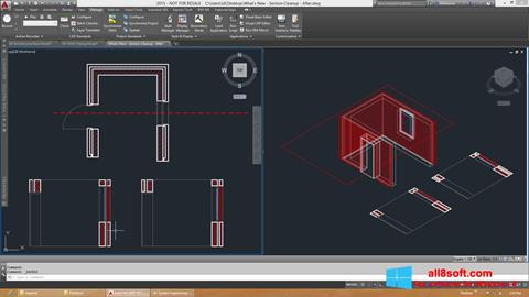 Ekran görüntüsü AutoCAD Architecture Windows 8