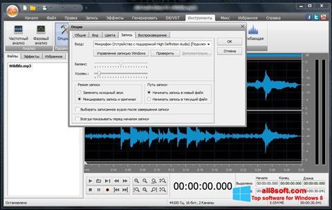 Ekran görüntüsü AVS Audio Editor Windows 8
