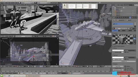 Ekran görüntüsü Blender Windows 8