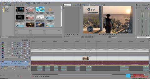 Ekran görüntüsü Sony Vegas Pro Windows 8