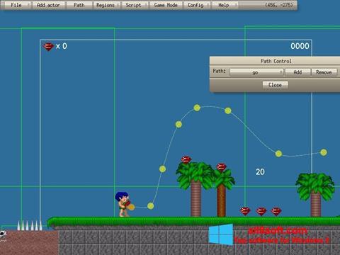 Ekran görüntüsü Game Editor Windows 8