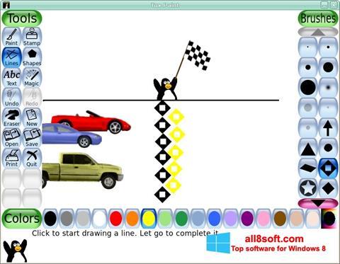 Ekran görüntüsü Tux Paint Windows 8