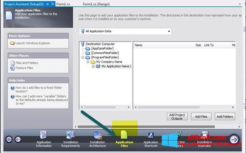 Ekran görüntüsü InstallShield Windows 8