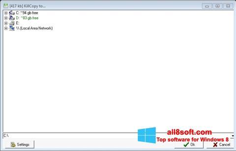 Ekran görüntüsü KillCopy Windows 8
