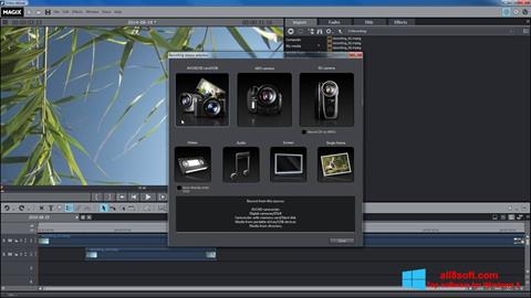 Ekran görüntüsü MAGIX Movie Edit Pro Windows 8