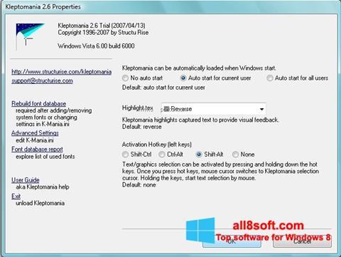 Ekran görüntüsü Kleptomania Windows 8