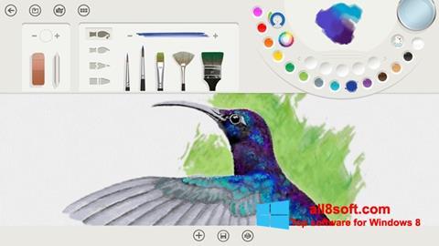 Ekran görüntüsü Fresh Paint Windows 8