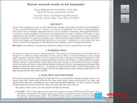 Ekran görüntüsü Doc Viewer Windows 8