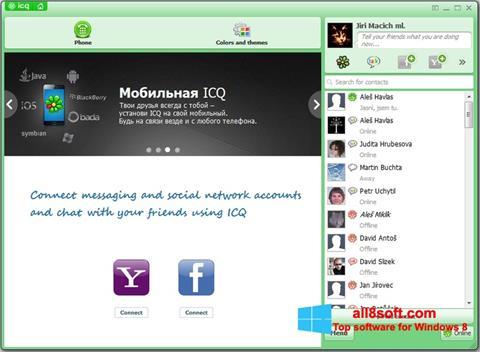 Ekran görüntüsü ICQ Windows 8