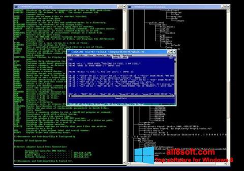 Ekran görüntüsü QBasic Windows 8