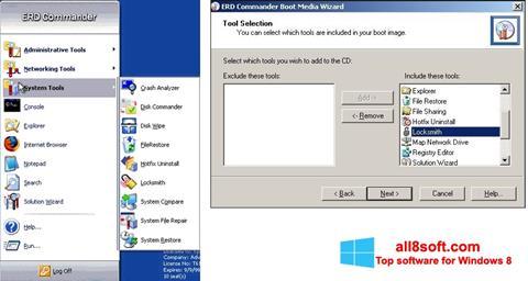 Ekran görüntüsü ERD Commander Windows 8