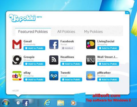 Ekran görüntüsü Pokki Windows 8