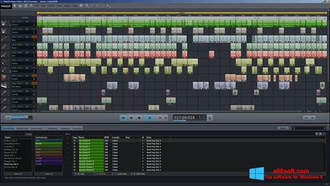 Ekran görüntüsü MAGIX Music Maker Windows 8