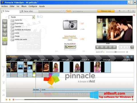 Ekran görüntüsü Pinnacle VideoSpin Windows 8