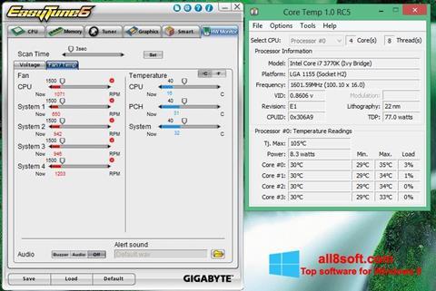 Ekran görüntüsü EasyTune Windows 8