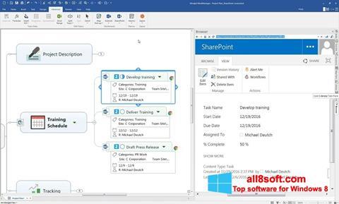 Ekran görüntüsü MindManager Windows 8