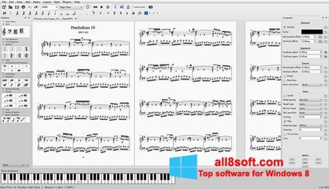 Ekran görüntüsü MuseScore Windows 8