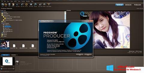 Ekran görüntüsü ProShow Producer Windows 8