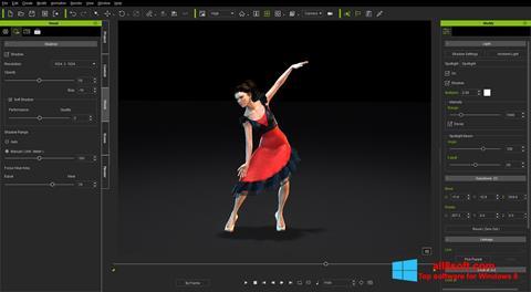 Ekran görüntüsü iClone Windows 8