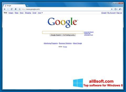 Ekran görüntüsü Google Chrome Beta Windows 8