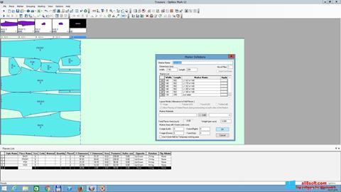 Ekran görüntüsü OptiTex Windows 8