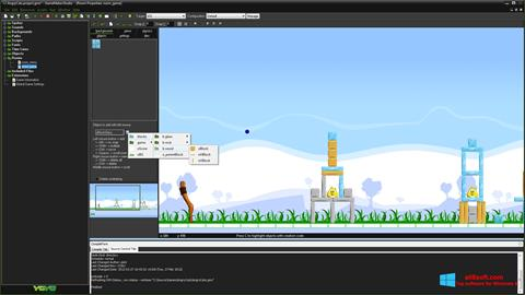Ekran görüntüsü GameMaker: Studio Windows 8