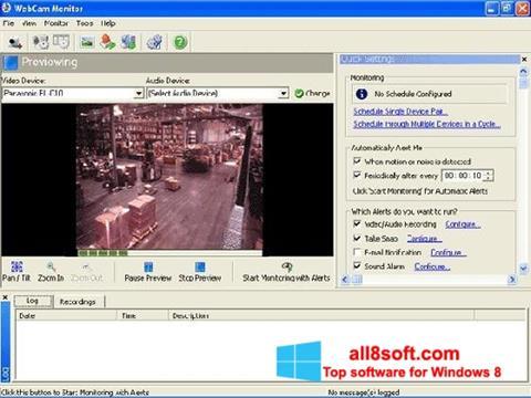 Ekran görüntüsü WebCam Monitor Windows 8