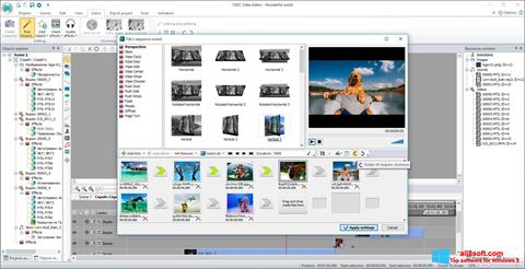 Ekran görüntüsü Free Video Editor Windows 8