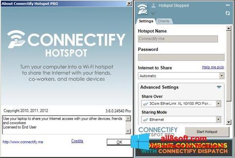 Ekran görüntüsü Connectify Pro Windows 8