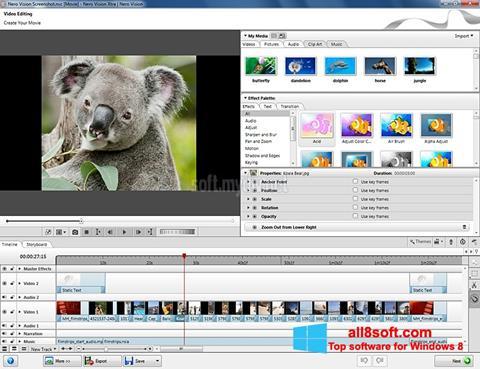 Ekran görüntüsü Nero Vision Windows 8