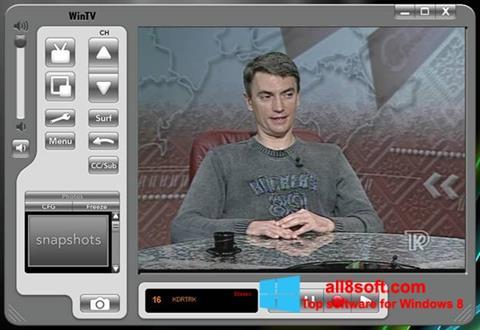 Ekran görüntüsü Behold TV Windows 8