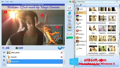 Ekran görüntüsü Magic Camera Windows 8