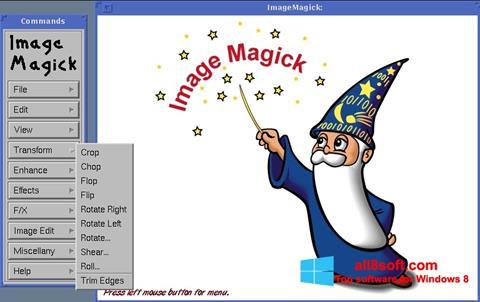 Ekran görüntüsü ImageMagick Windows 8