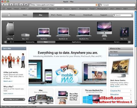 Ekran görüntüsü Safari Windows 8
