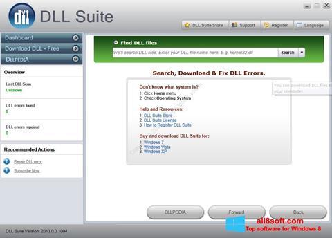 Ekran görüntüsü DLL Suite Windows 8
