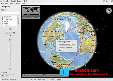 Ekran görüntüsü Marble Windows 8